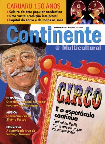 f67c54ac30 Continente  077 - Circo by Revista Continente - issuu