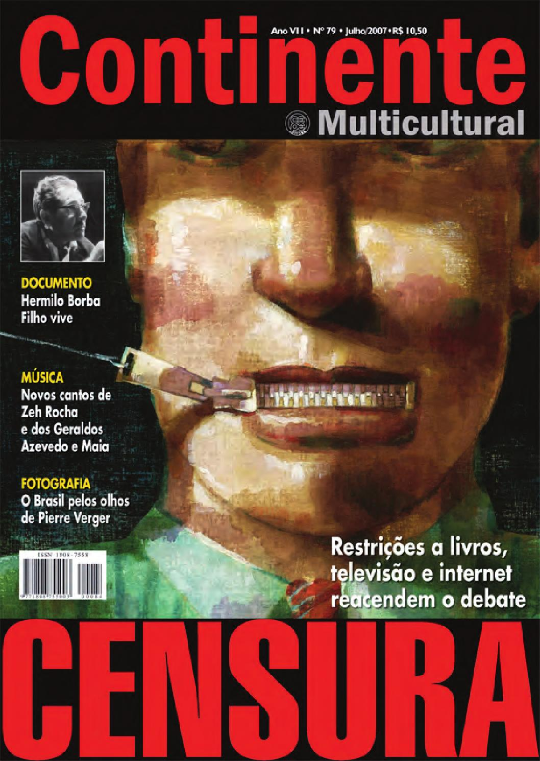 927aed59e Continente  079 - Censura by Revista Continente - issuu