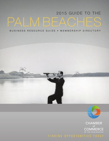 Guide To The Palm Beaches By Chamber Of Commerce Of The Palm - Excel invoice template for mac rocco's online store