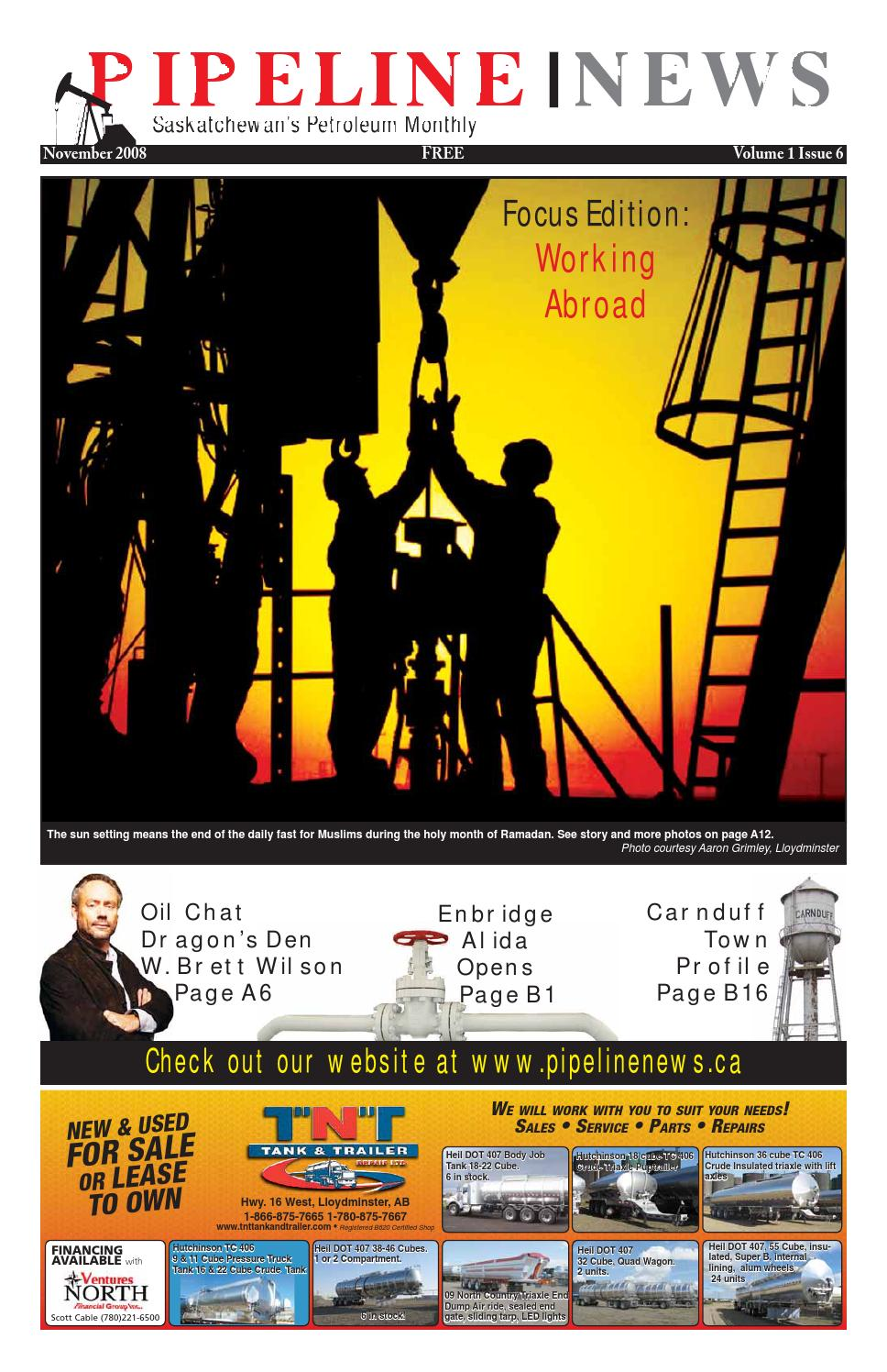 Pipeline News November 2008 by Pipeline News - issuu