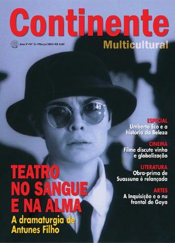 5c2dd5bb8 Continente  051 - Teatro no sangue e na alma by Revista Continente ...