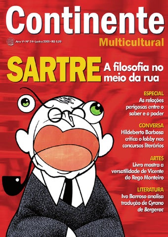 ecb60d470550b Continente  054 - Sartre by Revista Continente - issuu
