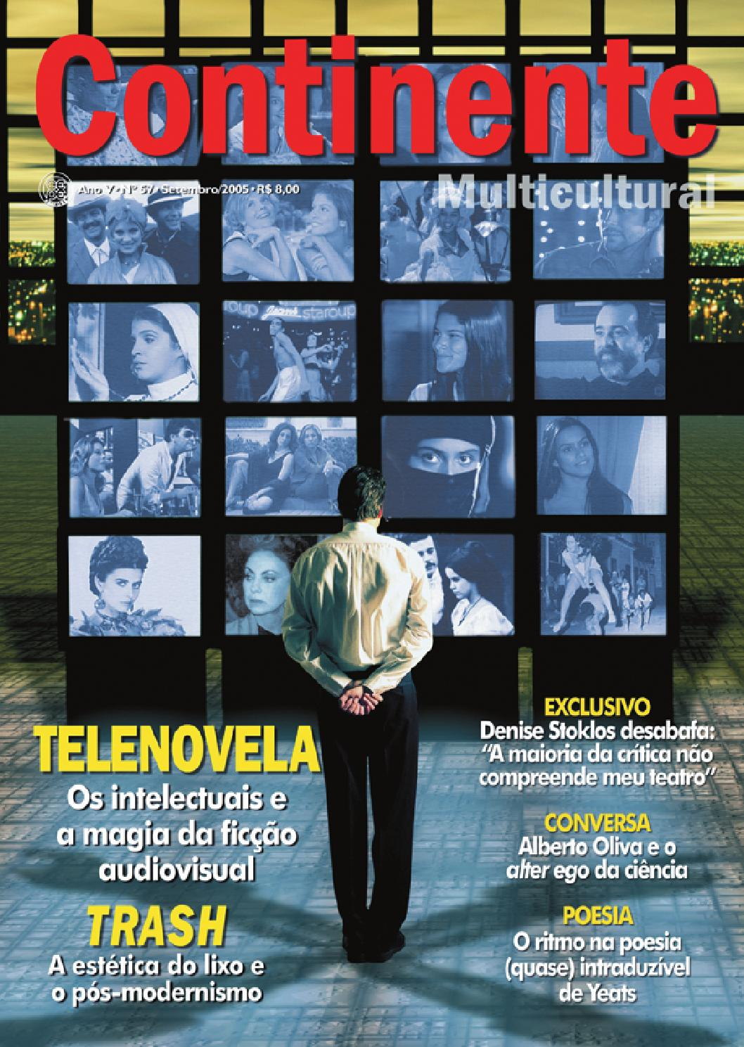 Continente  057 - Telenovela by Revista Continente - issuu 07f9d55cb7