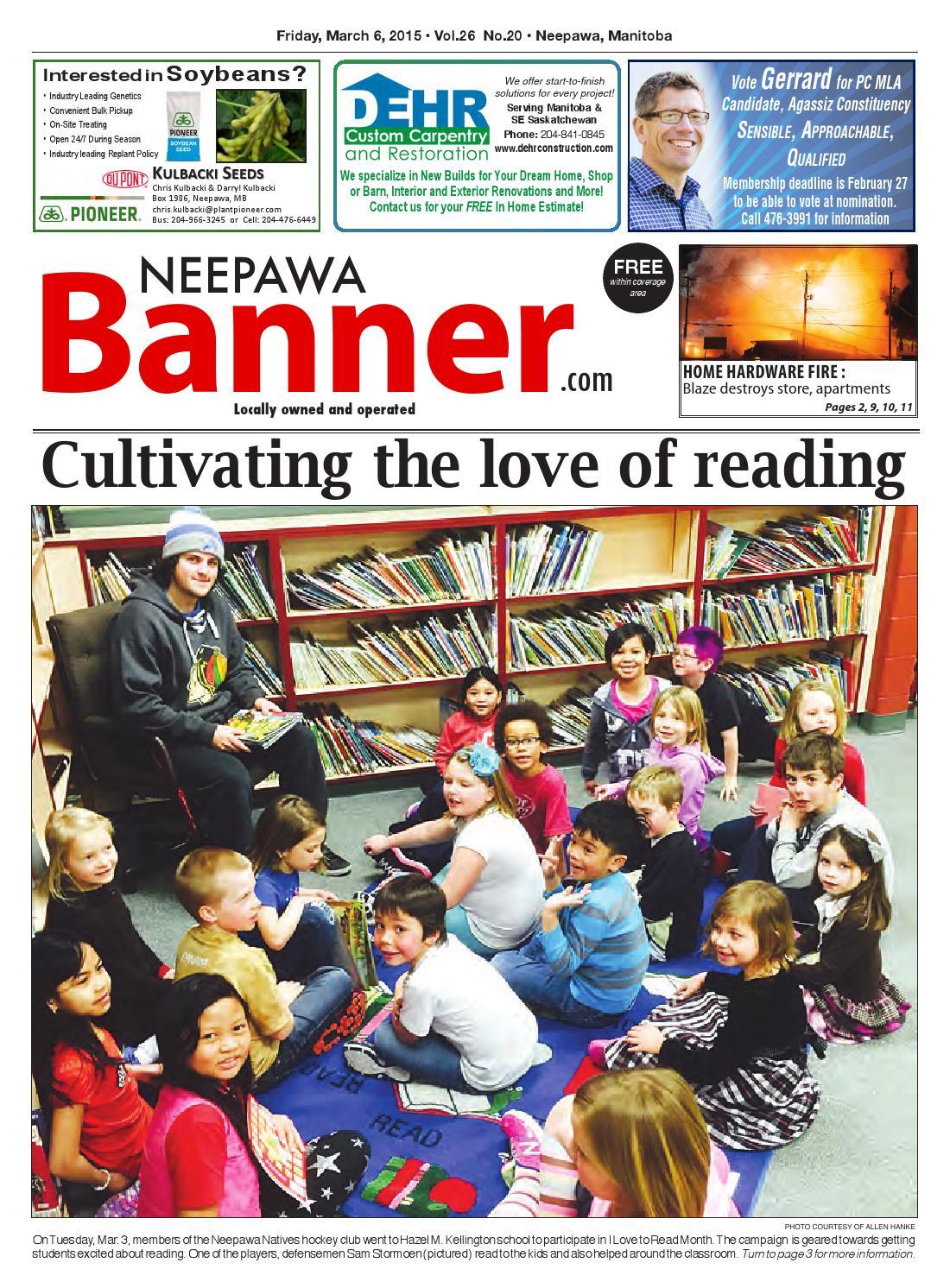 March 6 2015 Neepawa Banner By Neepawa Bannerpress Issuu