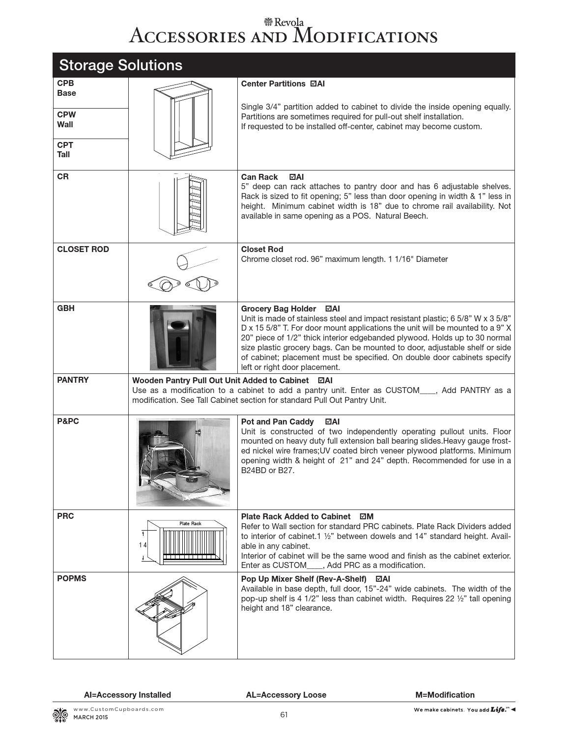 Cci Revola Catalog By Custom Cupboards Issuu
