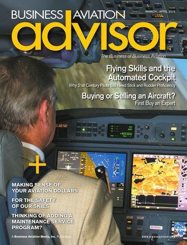 5f9ce085875 Business Aviation Advisor March April 2015 by Business Aviation ...