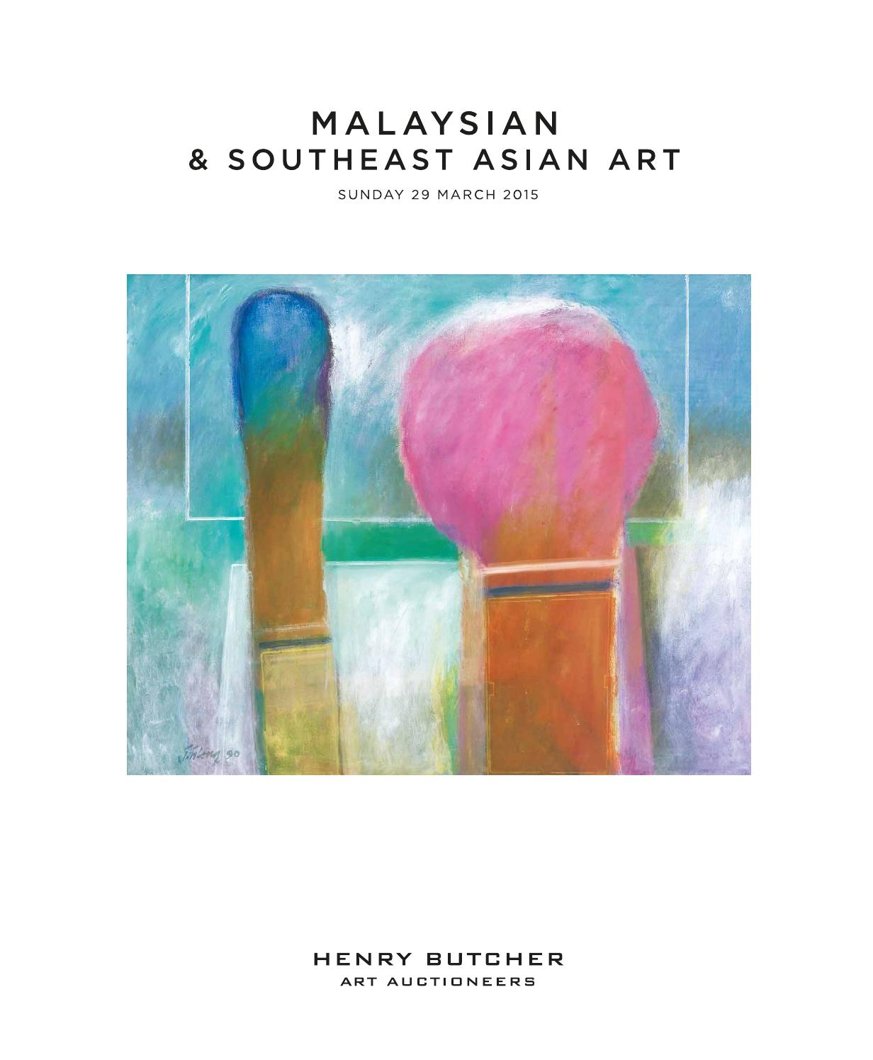 Malaysian Southeast Asian Art 29 March 2015 By Henry Butcher Art Auctioneers Issuu