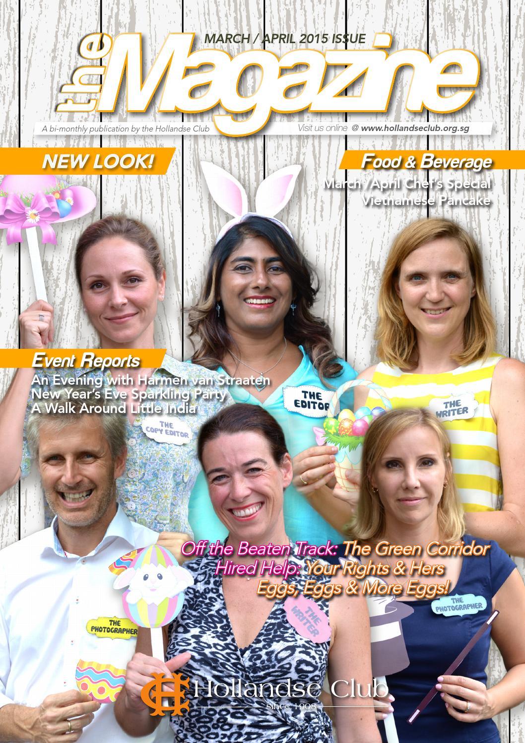 Hollandse Club Magazine March April  By Hollandse Club Issuu