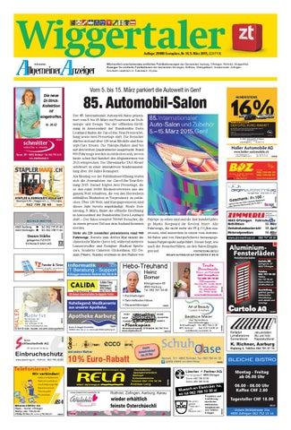 ac95a63483ef Wiggertaler Auflage  29880 Exemplare, Nr. 10, 5. März 2015, GZA P.P.A