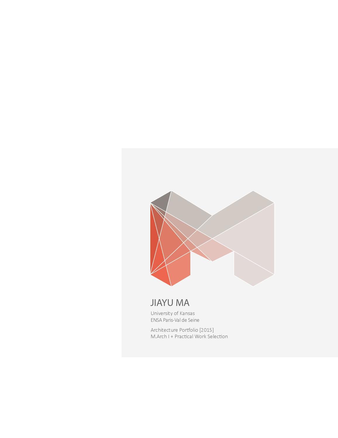 Ensa Paris Val De Seine jiayu 2015 portfolio (draft)jiayu ma - issuu