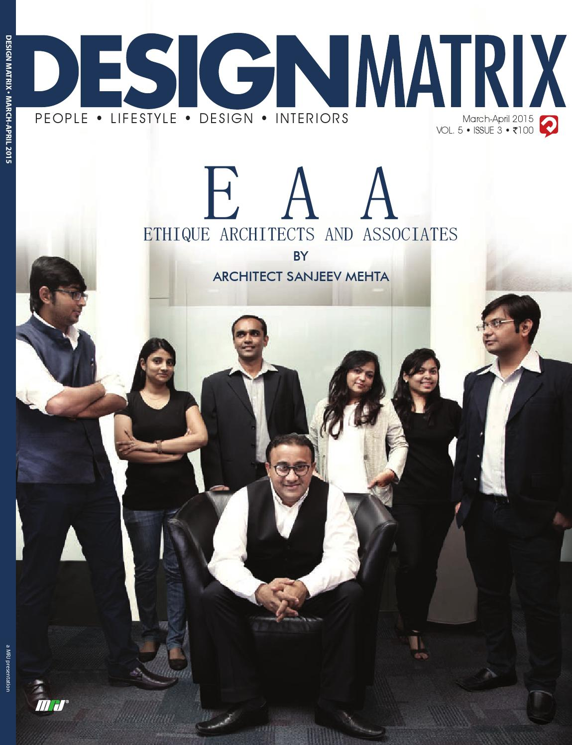 March april 2015 issue of design matrix by design matrix issuu