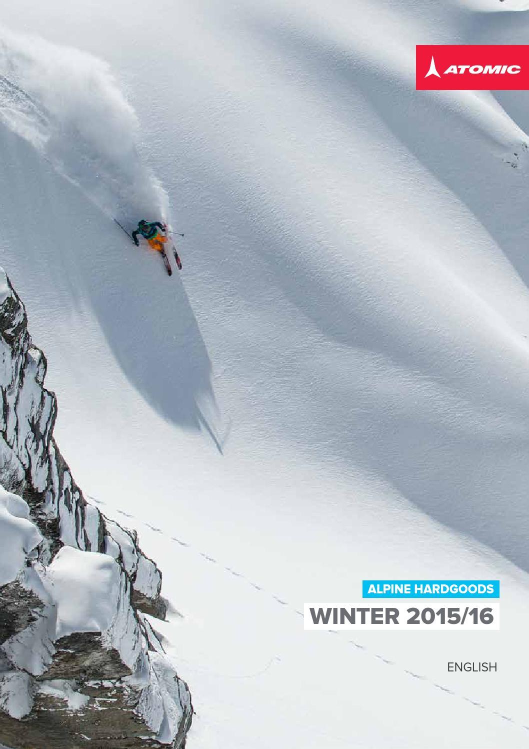 2015 Atomic FFG 7 White 90mm Ski Bindings