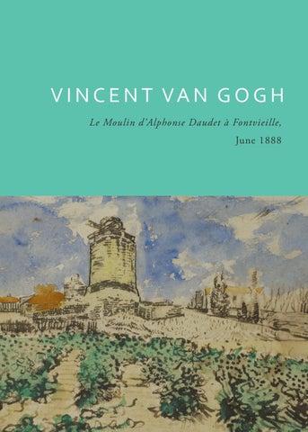 Vincent Van Gogh - Le Moulin d\'Alphonse Daudet à Fontvieille by ...