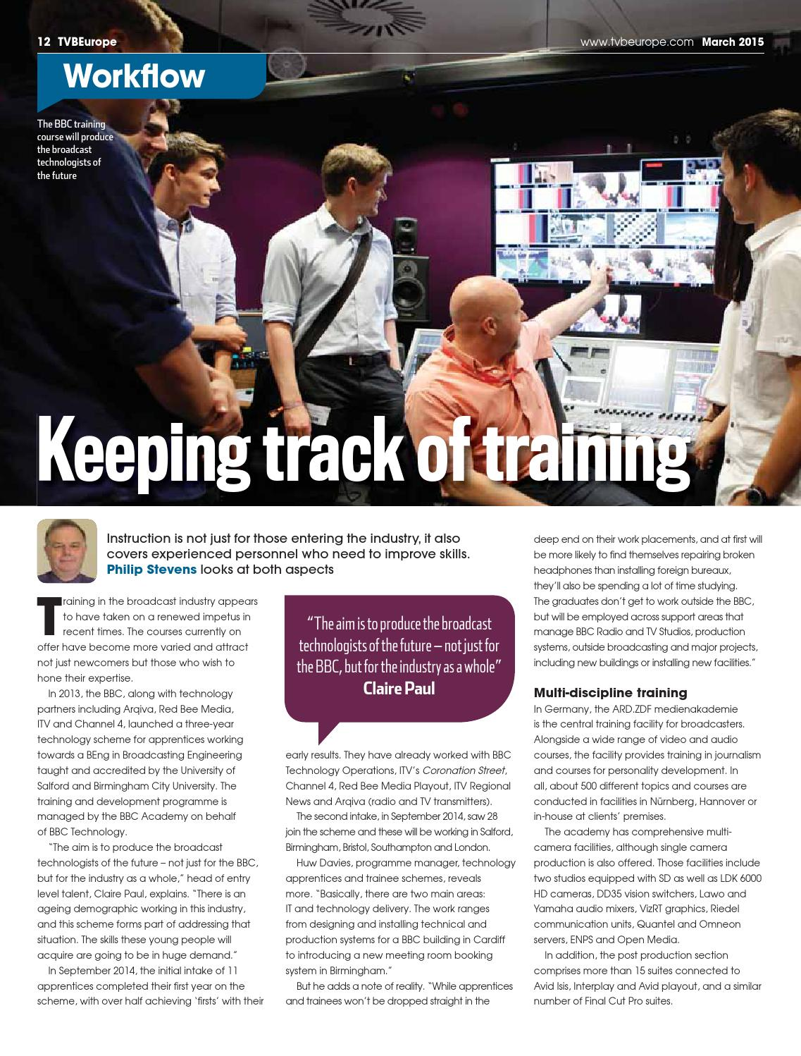 TVBEurope March 2015 Digital Edition By Future PLC