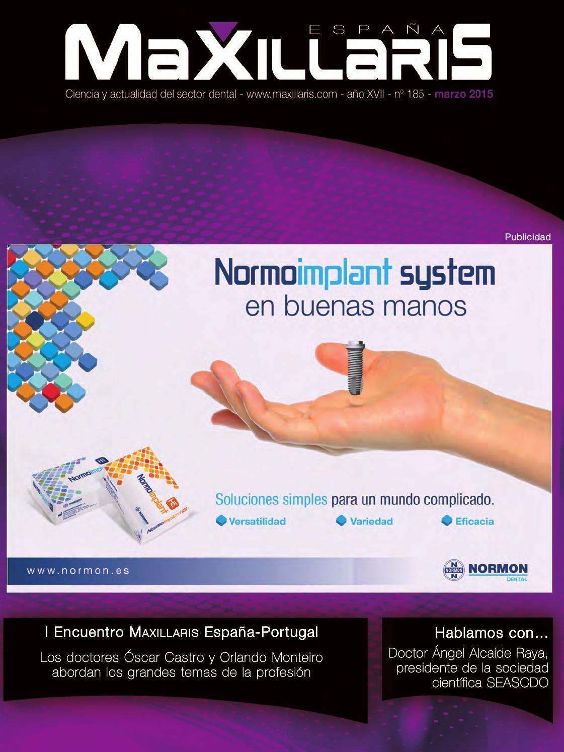 Revista MAXILLARIS España by CYAN EDITORES dd6b3c2b2542