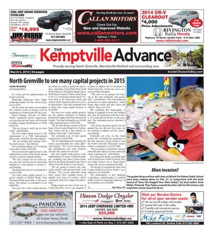 Kemptville030515 By Metroland East Kemptville Advance