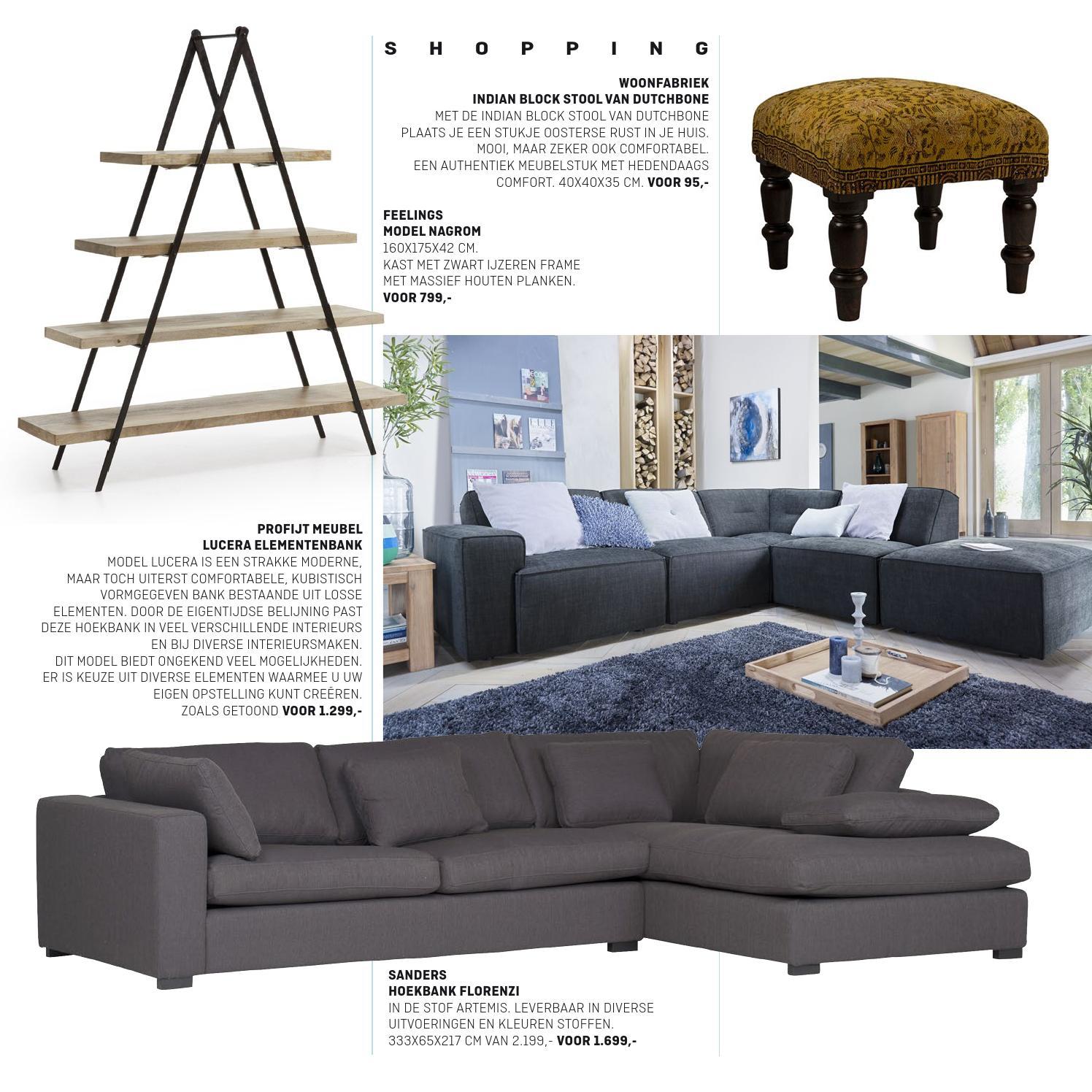 Design Bank Losse Elementen.Villa Arena Lente Magazine 2015 By Villa Arena Issuu