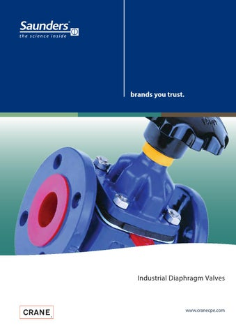 Saunders industrial diaphragm valves by eriks nederland issuu page 1 brands you trust industrial diaphragm valves ccuart Image collections