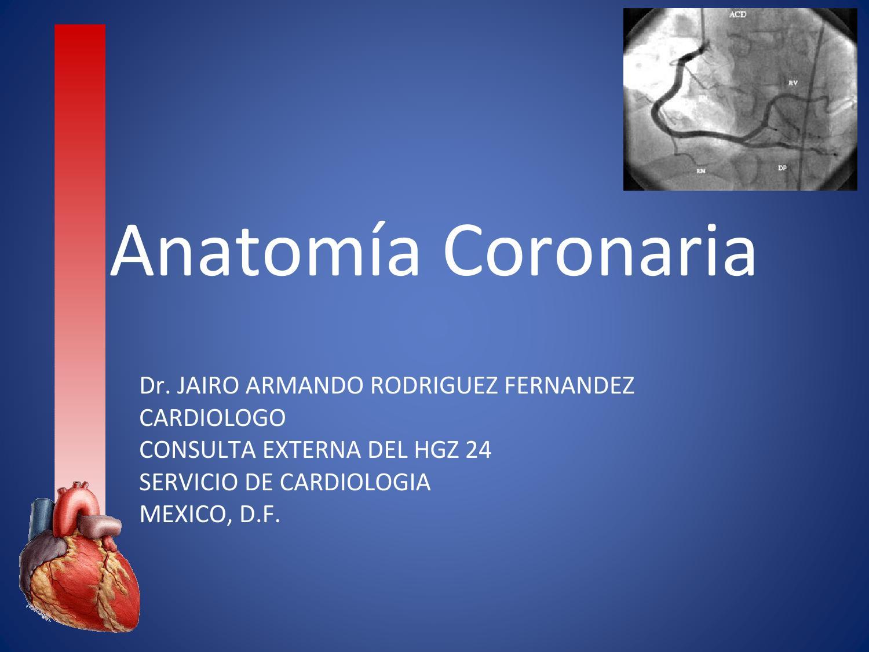 Anatomia coronaria by Jairo Rodriguez - issuu