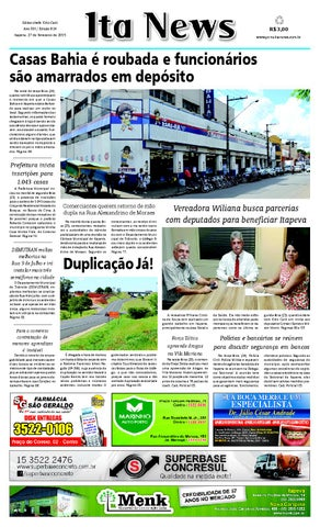 Jornal Ita News - Edição 824 by Ita News - issuu b56a591654