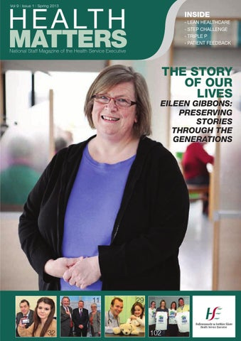 Health Matters Spring 2013 by HSE Communications - issuu