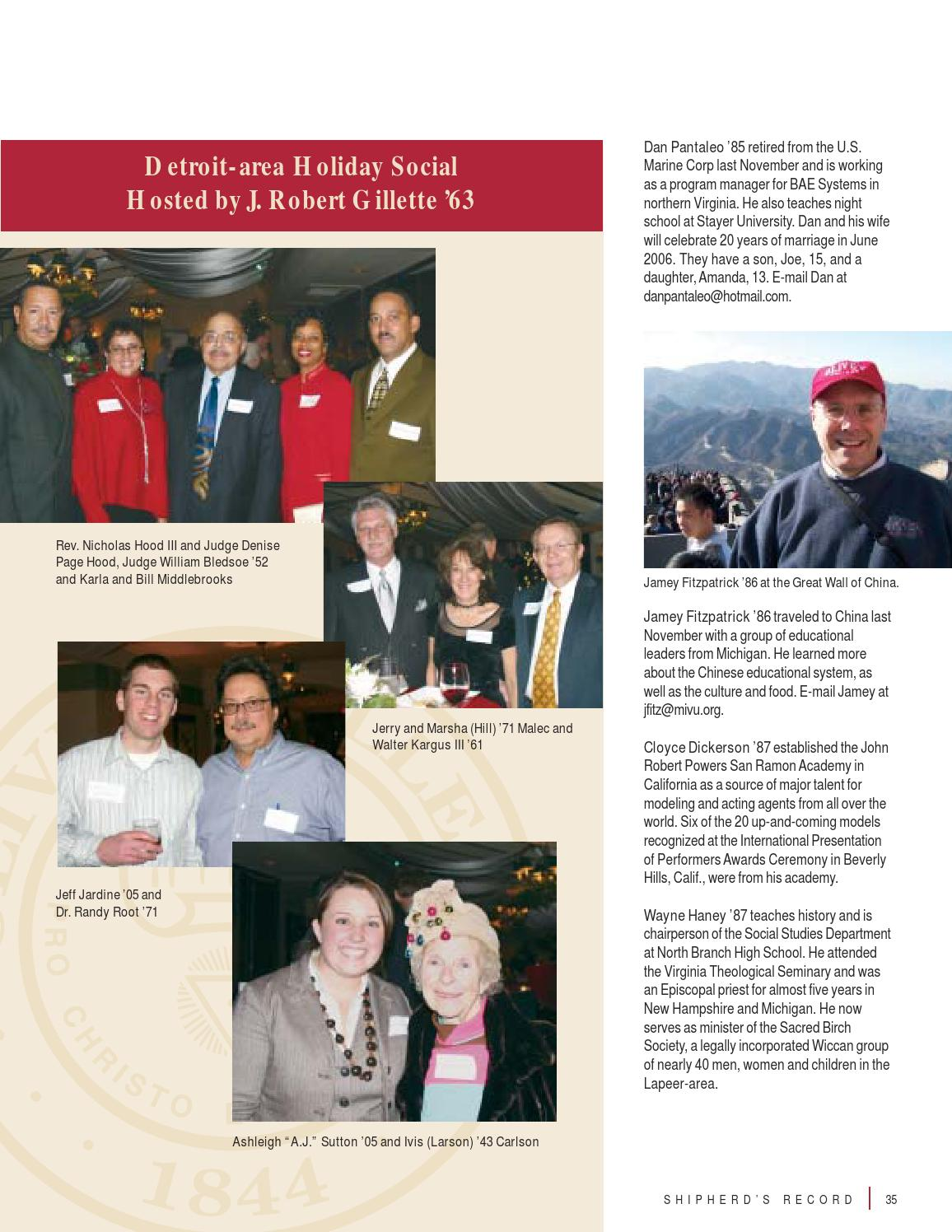 Shipherd S Record Spring 2006 By Olivet College Issuu