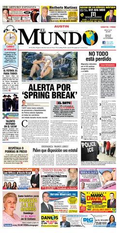 El Mundo Newspaper Austin 09 by El Mundo Newspaper - issuu 1af0ca0f75cdf