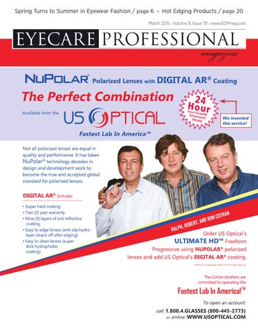 f924cf22810 Eye Care Professional Magazine - March 2015 Issue by ECP Magazine ...