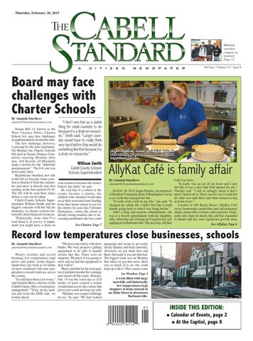 The Cabell Standard, Feb. 26, 2015
