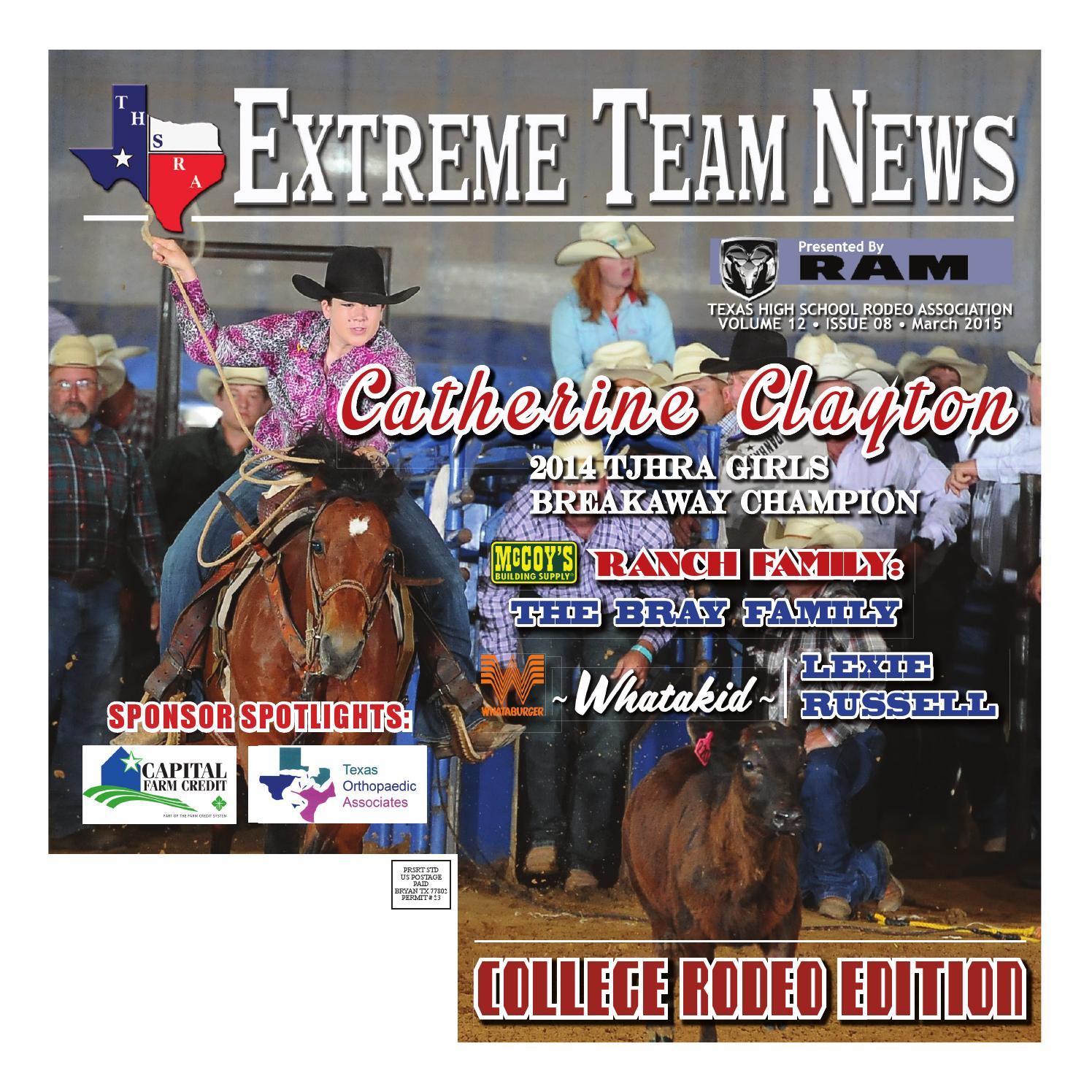 March 2015 Extreme Team News Official News Of Texas High