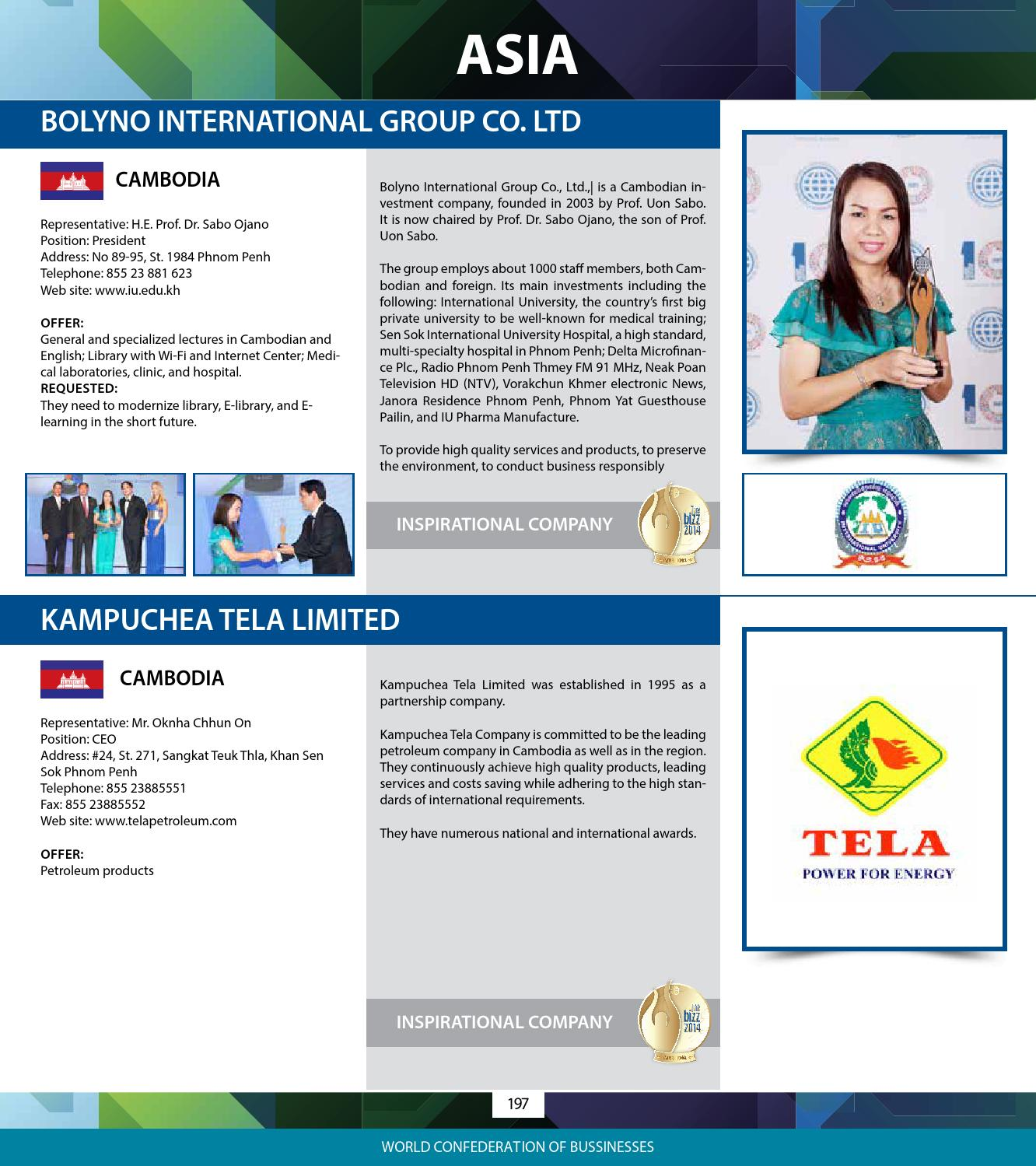 Directory_2014 by World Confederation of Businesses - issuu