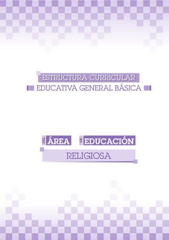 Estructura Curricular Educativa General Básica By