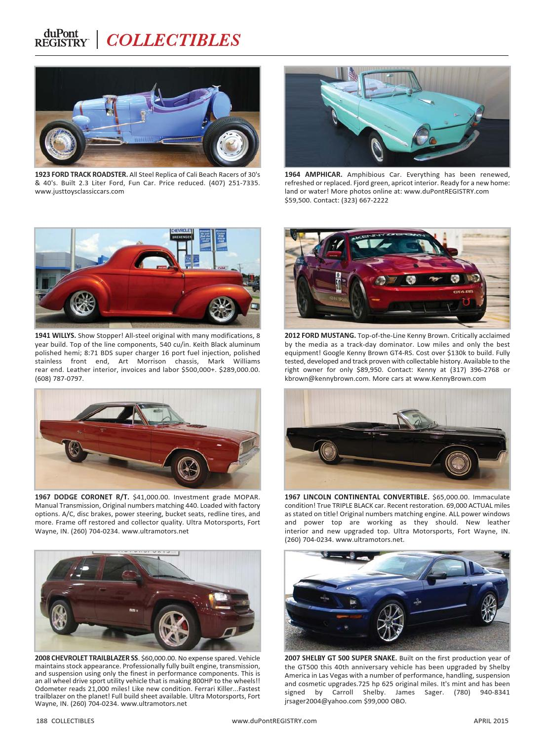 duPontREGISTRY Autos April 2015 by duPont REGISTRY - issuu