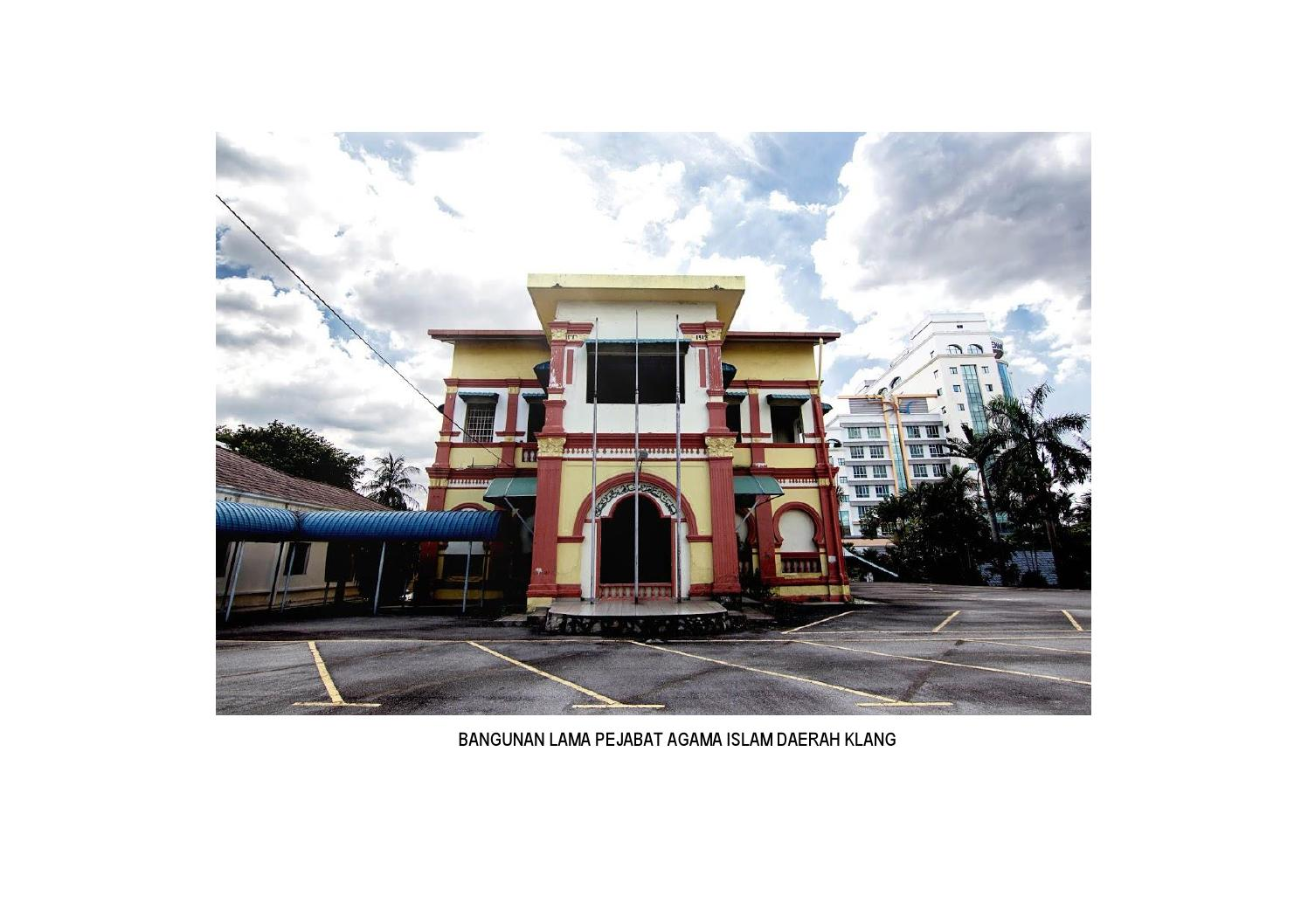 Pejabat Agama Islam Daerah Klang Report By Jolene Hor Issuu