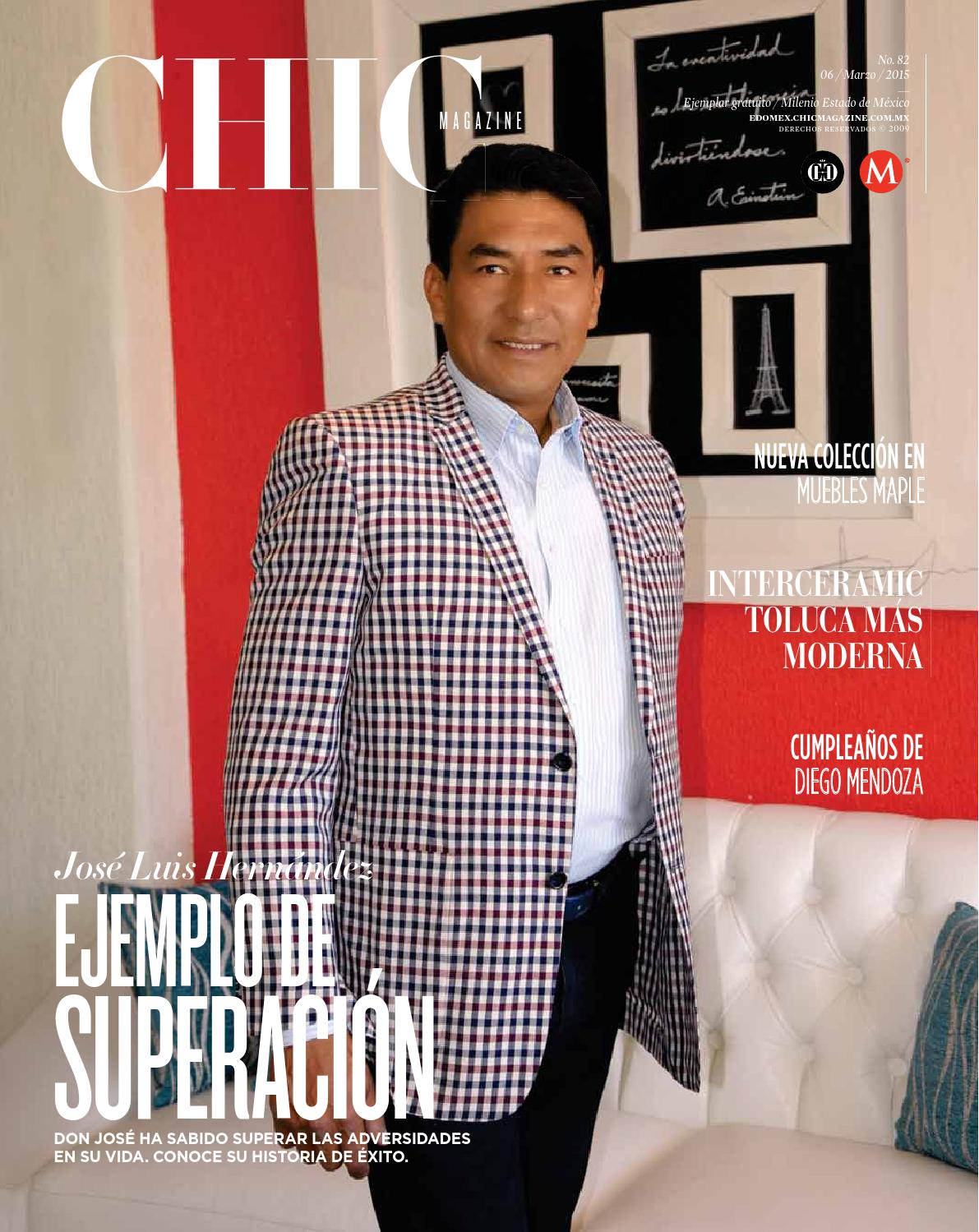 Chic Magazine Edomex Edici N 82 By Chic Magazine Estado De M Xico  # Muebles Tultepec Toluca