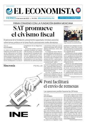 El Economista Hp 356 By Hojas Políticas Issuu