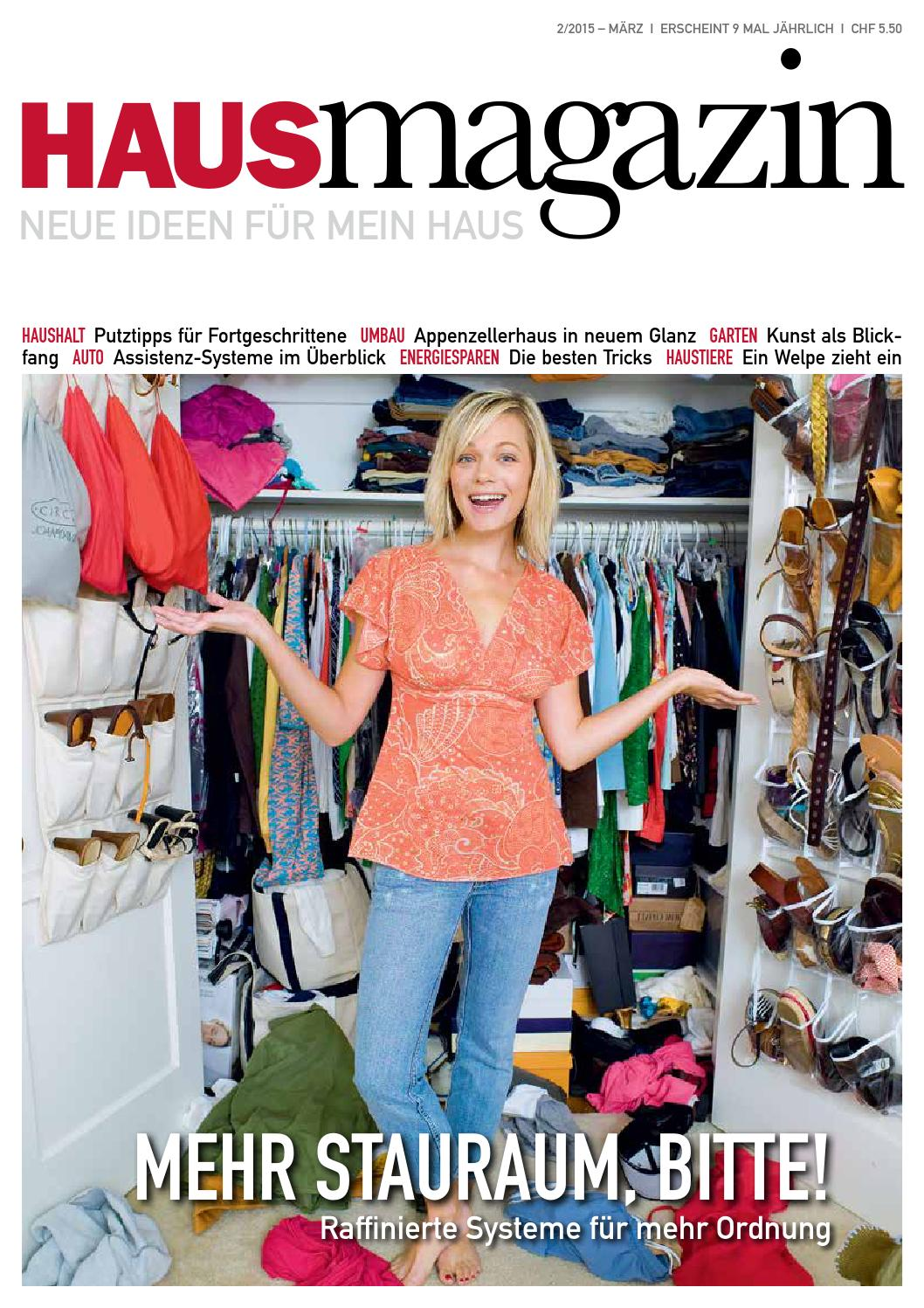 Hausmagazin März 2015 by HAUS MAGAZIN - issuu