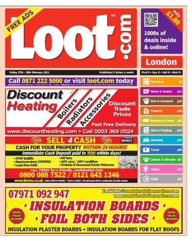 Loot London, February 27th 2015 by Loot - issuu