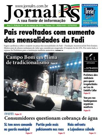 e55f12566 Edição 81 - Jornal RS Online by Jornal RS - issuu