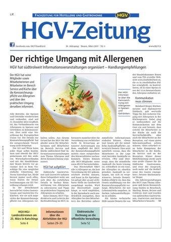 März Ausgabe der HGV Zeitung by HGV Service Genossenschaft issuu