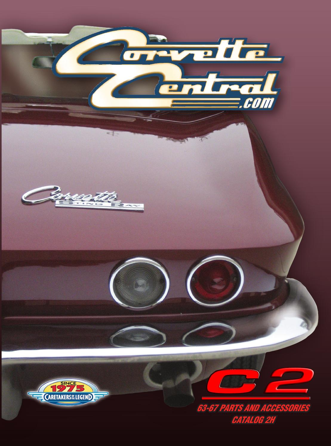 Corvette Central C2 63 67 Parts Catalog By Chevy 350 Pcv Diagram Issuu