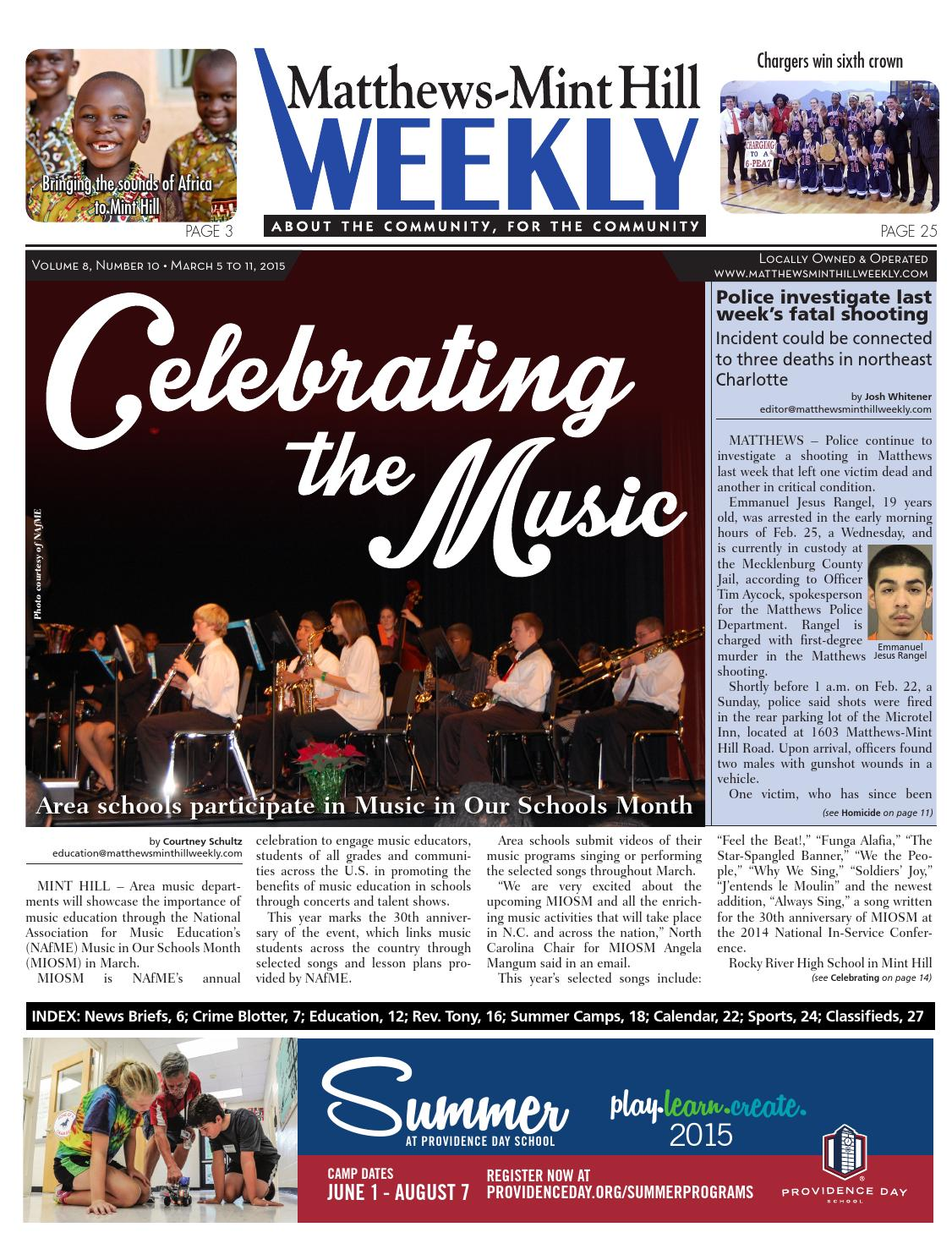 Matthews mint hill weekly by carolina weekly issuu fandeluxe Images