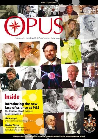 Opus Issue 4 By The Portsmouth Grammar School Issuu