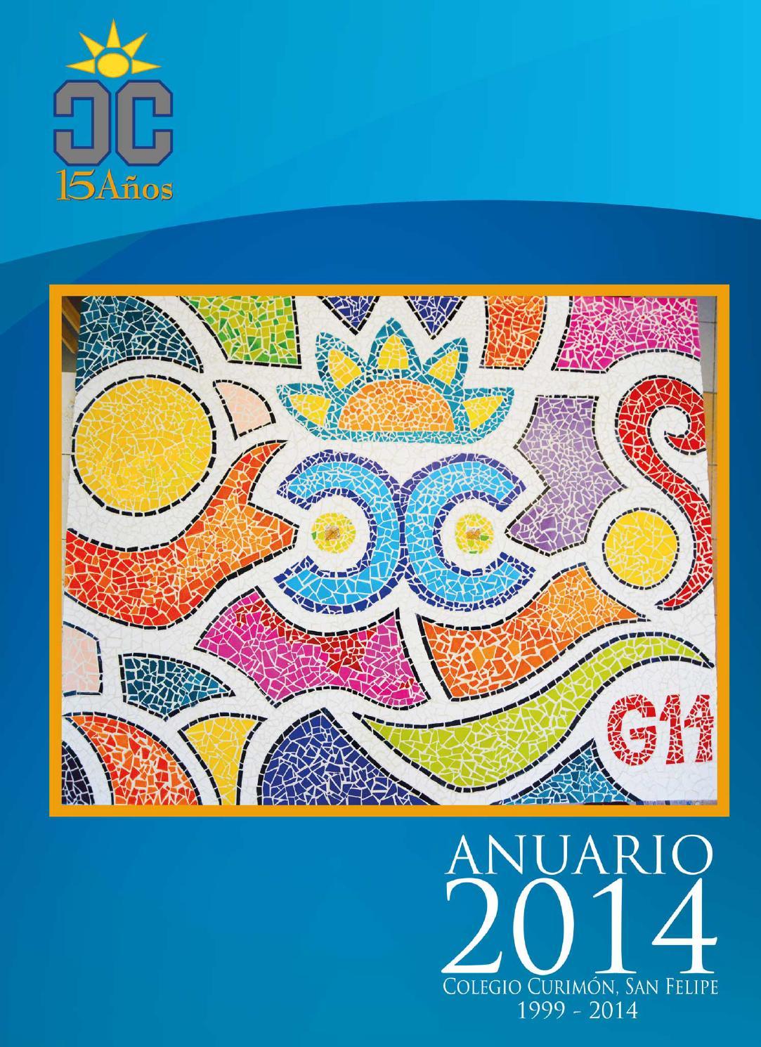 Anuario Colegio Curimón 2014 by SBS Publicidad - issuu