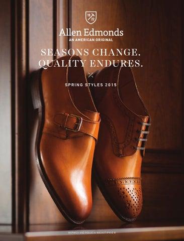 5b1189afedb Allen Edmonds Spring Styles 2015 Catalog by Allen Edmonds Shoe ...