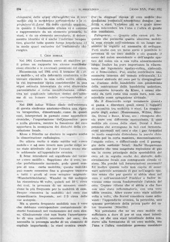 Il policlinico sezione pratica anno 1904 parte 1 ocr parte1 by Accademia di  Medicina Torino - issuu