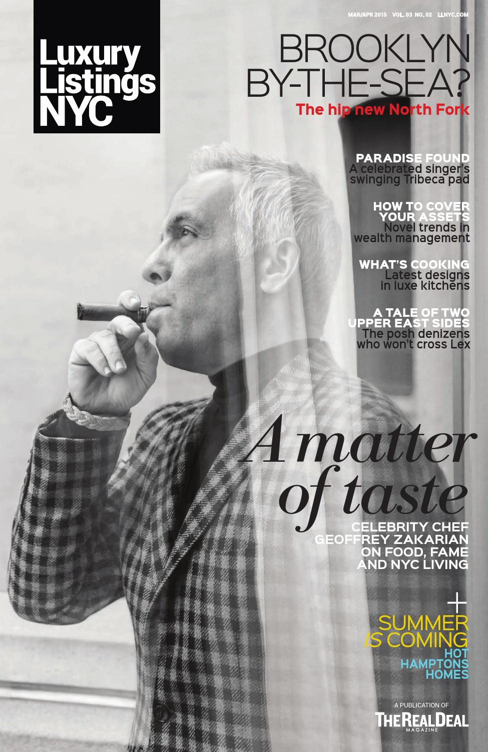 luxury listings nyc geoffrey zakarian march april 2015 by