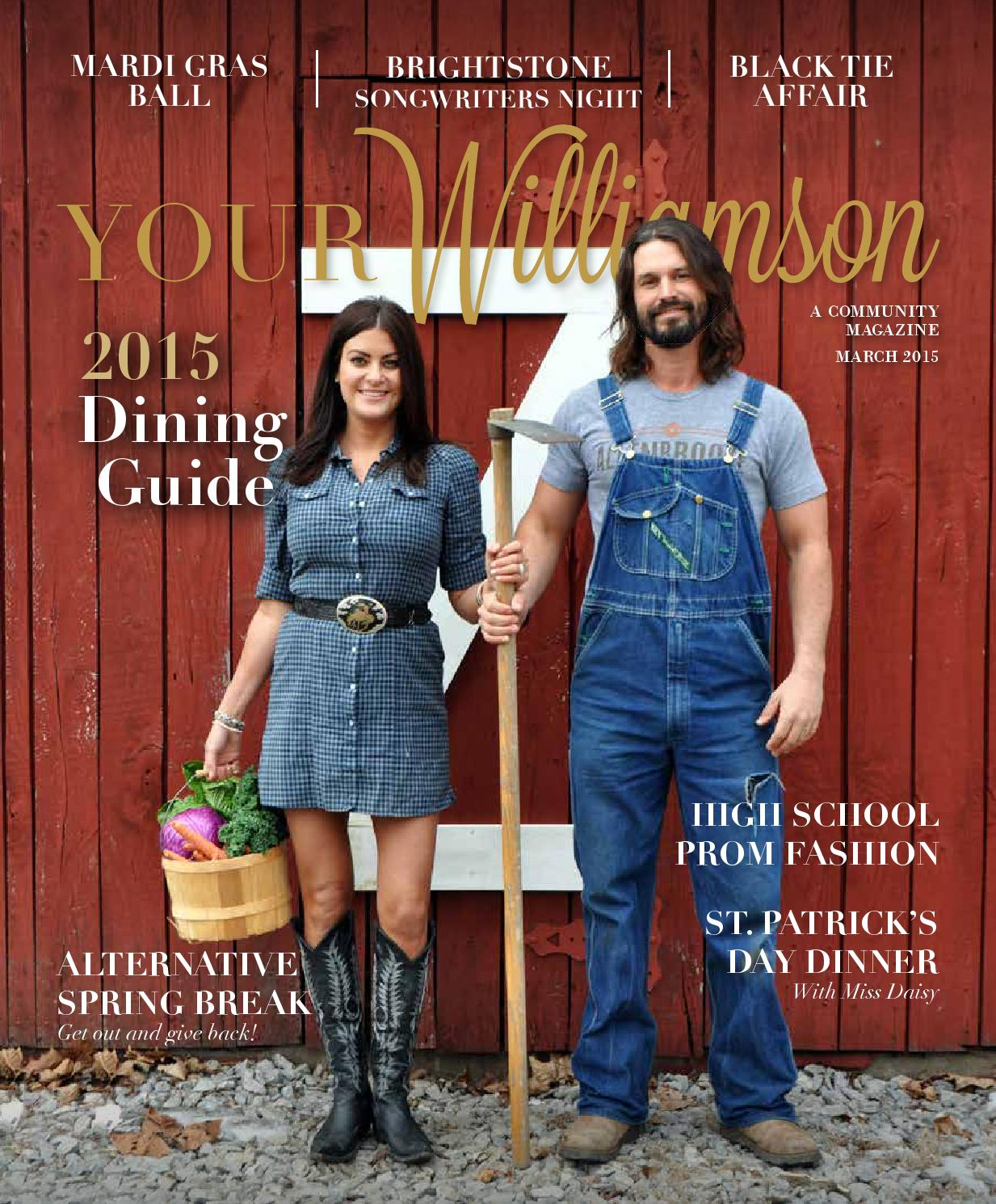 March 2015 by Robertson Media Group | Your Williamson | Your