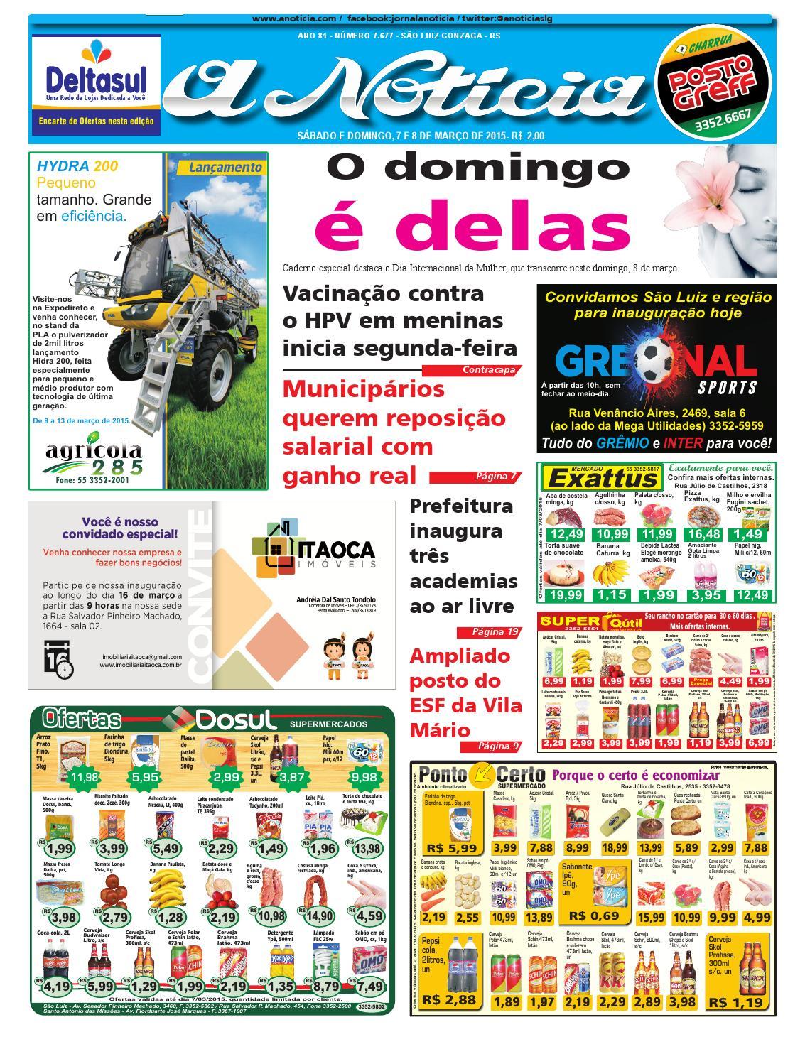 Edição de 7 e 8 de março de 2015 by Jornal A Notícia - issuu 9970ae08c4424