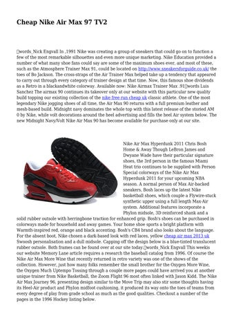 Cheap Nike Air Max 97 TV2 by luxuriantjug8793 - issuu c9ba749f39
